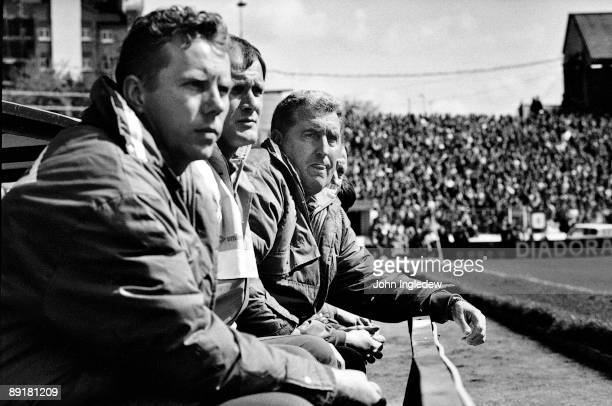 Chelsea manager Bobby Campbell watches from the touchline during the Barclays League Division One match between Chelsea and Liverpool held on May 4...