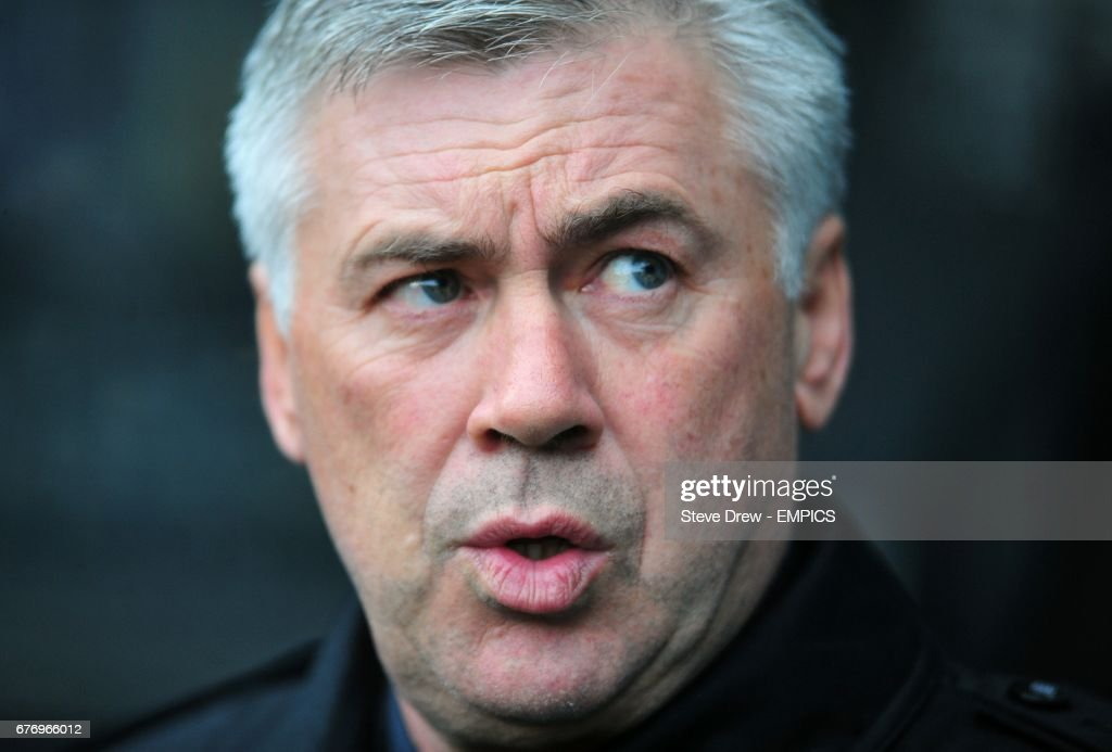 Chelsea manager Carlo Ancelotti on the touchline prior to kick-off