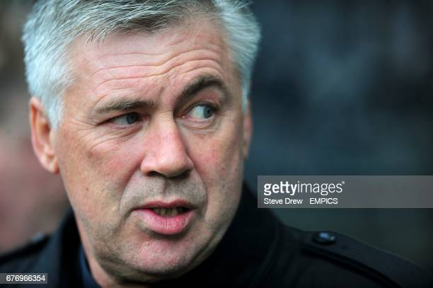 Chelsea manager Carlo Ancelotti on the touchline prior to kickoff