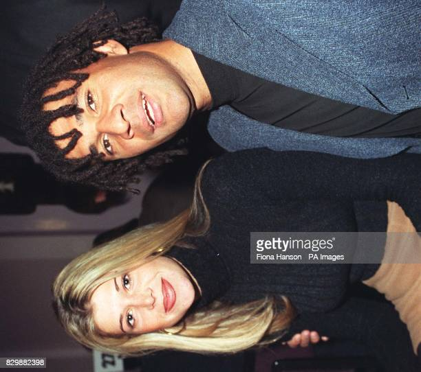 Chelsea manager Ruud Gullit and his girlfriend Estelle Cruyff at the Q Magazine Awards in central London this afternoon Gullit presented veteran...