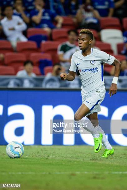 Chelsea Midfielder Charly Musonda in action during the International Champions Cup 2017 match between FC Internazionale and Chelsea FC on July 29...
