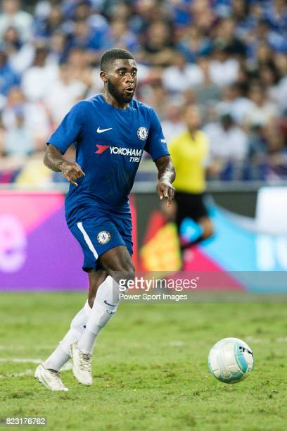 Chelsea Midfielder Jeremie Boga in action during the International Champions Cup match between Chelsea FC and FC Bayern Munich at National Stadium on...