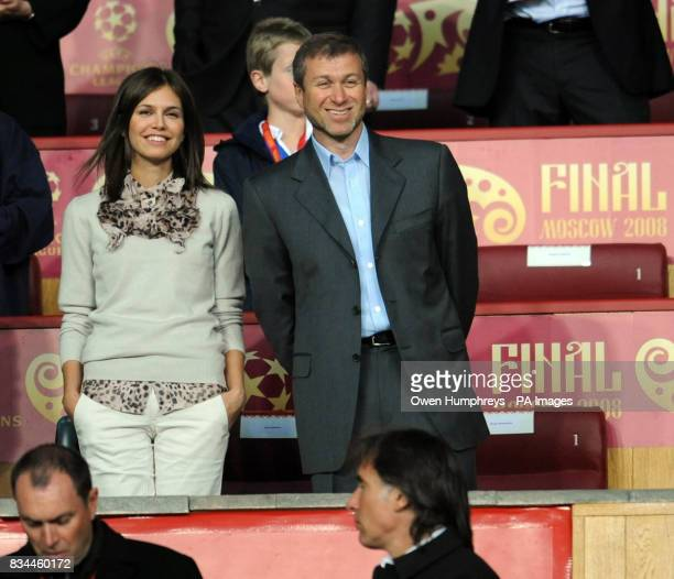 Chelsea owner Roman Abramovich during the UEFA Champions League Final at the Luzhniki Stadium Moscow Russia