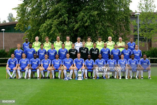 Chelsea team group Lassana Diarra James Melbourne Match Analyst Andre Villas Head opposition scout/First team coach Silvino Louro Assistant...