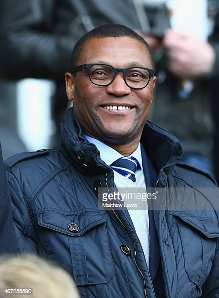 Chelsea technical director Michael Emenalo looks on prior to the Barclays Premier League match between Hull City and Chelsea at KC Stadium on March...