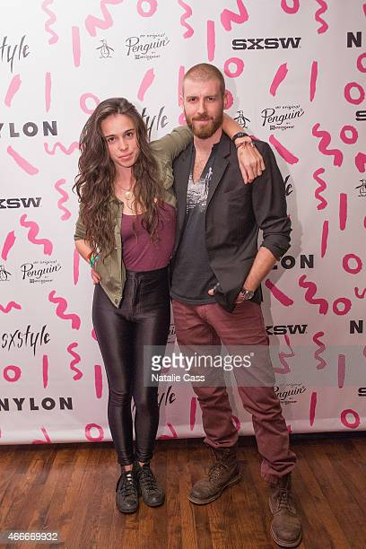 Chelsea Tyler and Jon Foster of KANEHOLLER attend the NYLON Presents SXStyle Official Closing Party With Original Penguin during the 2015 SXSW...
