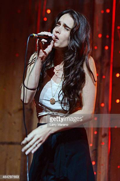 Chelsea Tyler of Badbad performs at Stache on December 7 2013 in Fort Lauderdale Florida