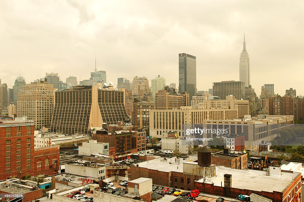 Chelsea, view from a roof top terrace