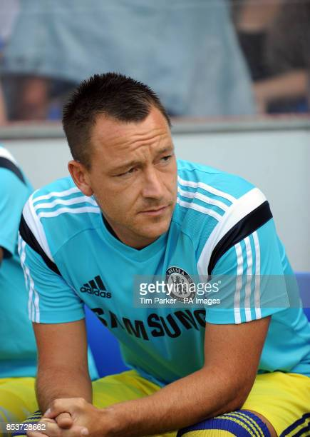 Chelsea XI's John Terry during the PreSeason friendly at the The Cherry Red Records Stadium Surrey