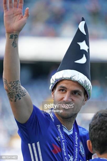 Chelsea's Cesc Fabregas after the Premier League match between Chelsea and Sunderland at Stamford Bridge on May 21 2017 in London England