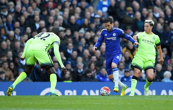 Chelsea v Manchester City - Barclays Premier League - Stamford Bridge : News Photo