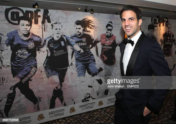 Chelsea's Cesc Fabregas during the PFA Player of the Year Awards 2015 at the Grosvenor House Hotel London