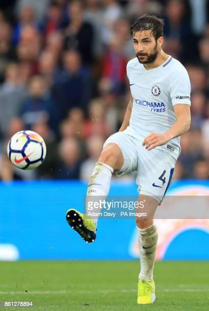 Chelsea's Cesc Fabregas during the Premier League match at Selhurst Park London