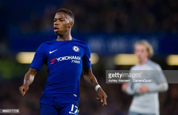 Chelsea's Charly Musonda during the Carabao Cup Fourth Round match between Chelsea and Everton at Stamford Bridge on October 25 2017 in London England