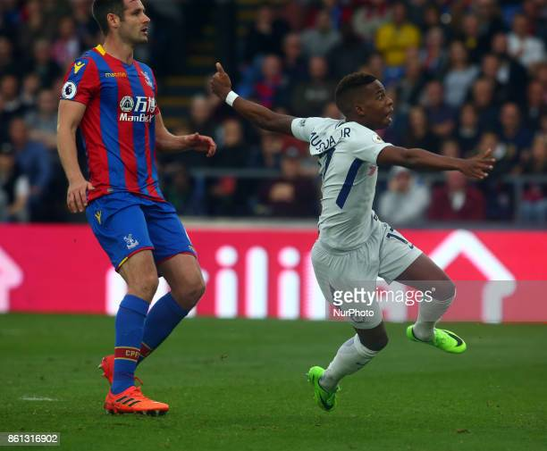 Chelsea's Charly Musonda Jr during Premier League match between Crystal Palace and Chelsea at Selhurst Park Stadium London England on 14 Oct 2017