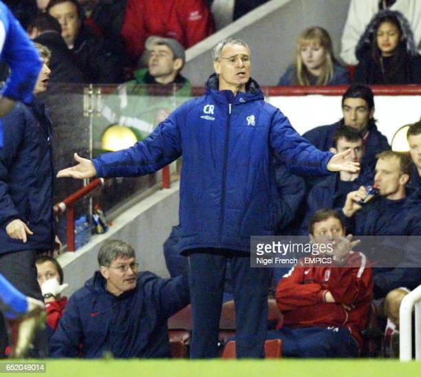 Chelsea's Claudio Ranieri