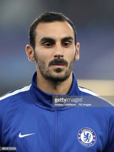 Chelsea's Davide Zappacosta during the UEFA Champions League Group C match at Stamford Bridge London