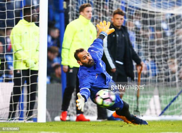 Chelsea's Eduardo during the Premier League match between Chelsea and Southampton at Stamford Bridge London England on 25 April 2017