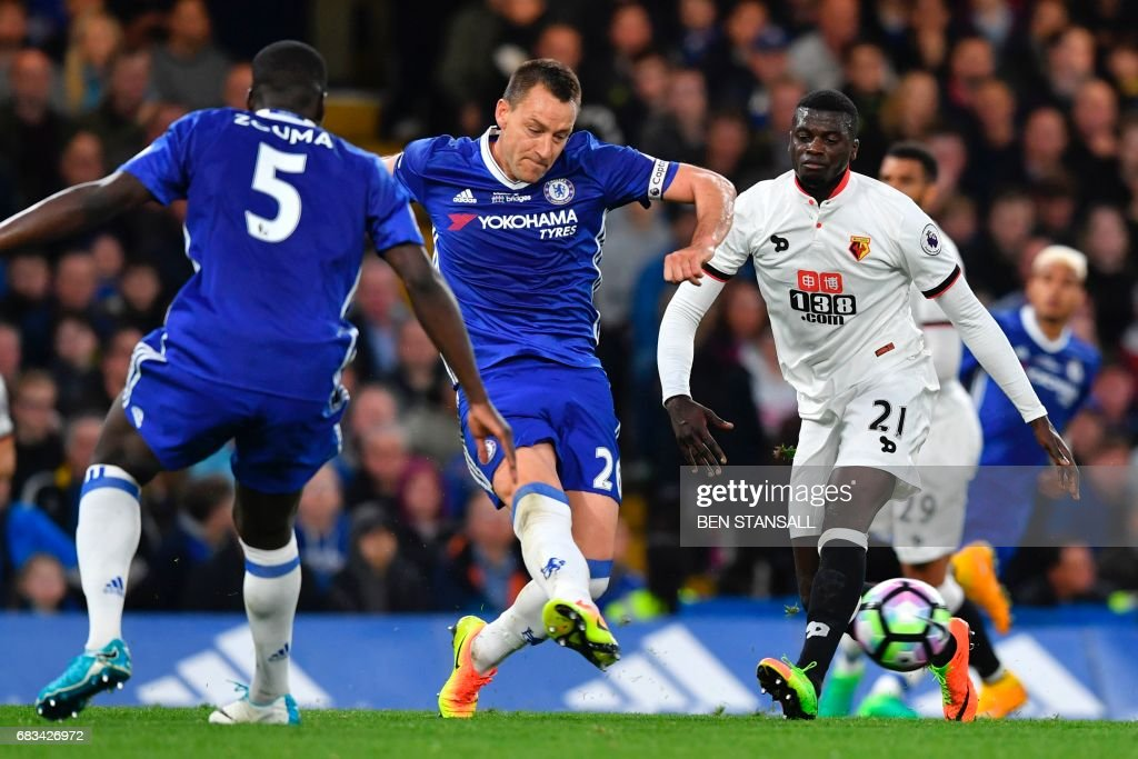 FBL-ENG-PR-CHELSEA-WATFORD : News Photo