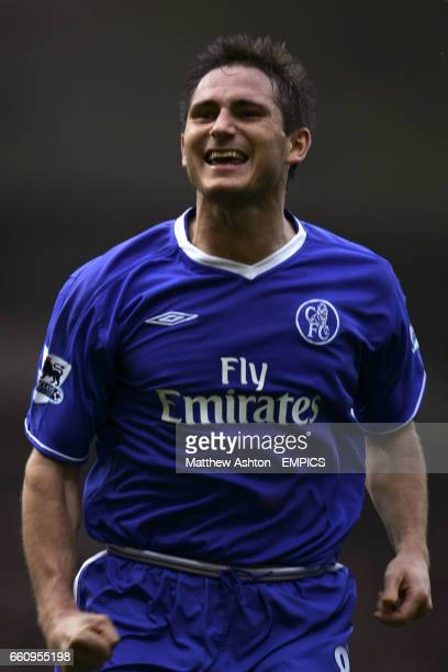Chelsea's Frank Lampard celebrates his goal