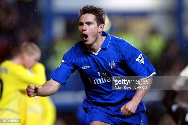 Chelsea's Frank Lampard celebrates scoring
