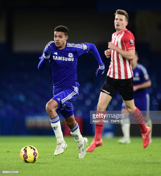 Chelsea's Jake Clarke Salter against Southampton