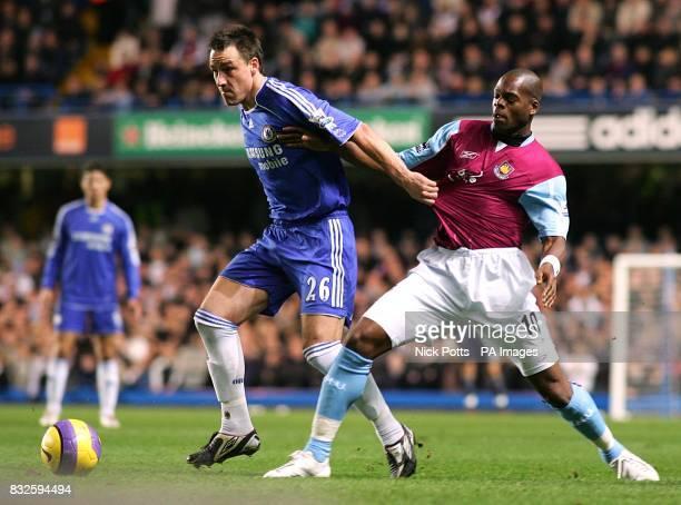 Chelsea's John Terry and West Ham United's Marlon Harewood