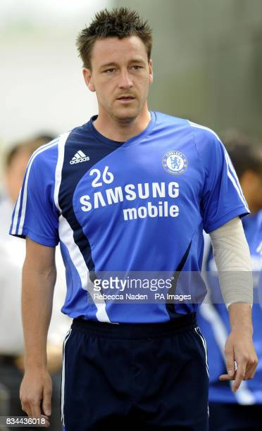 Chelsea's John Terry during the UEFA Champions League Media Day at Cobham London