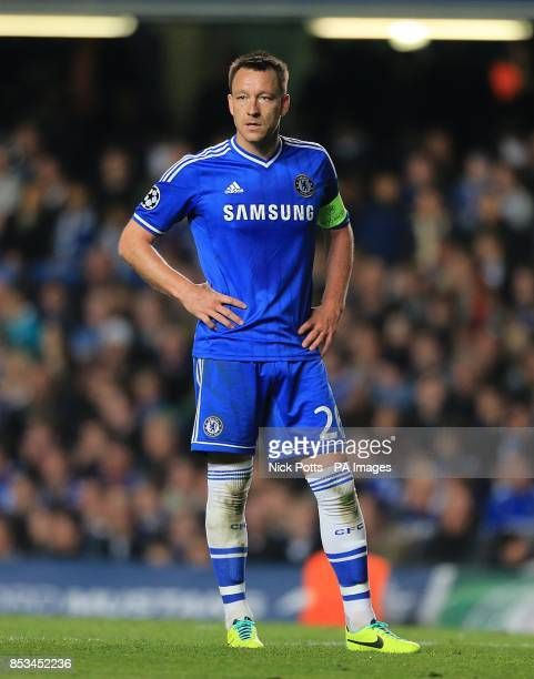 Chelsea's John Terry stands dejected late in the game