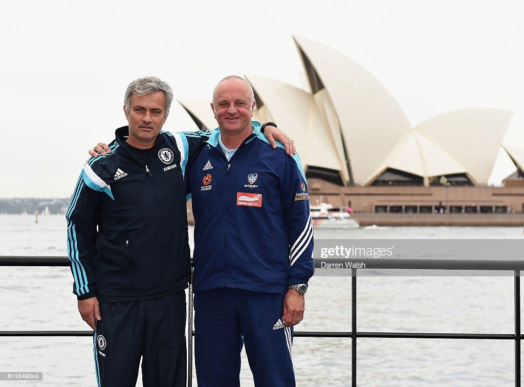 Soccer - Chelsea 2015 Post Season Tour - Chelsea FC Press Conference - Park Hyatt Sydney - Sydney : News Photo