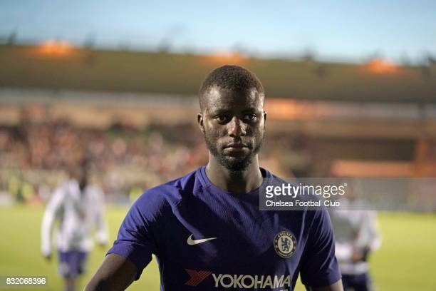 Chelsea's Joseph Colley after the Checkatrade Trophy match at Home Park on August 15 2017 in Plymouth England