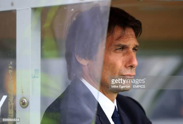 Chelsea's manager Antonio Conte