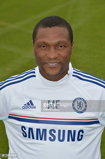 Chelsea's Michael Emenalo during the 1st team photocall at the Cobham Training Ground on 23rd August 2013 in Cobham England