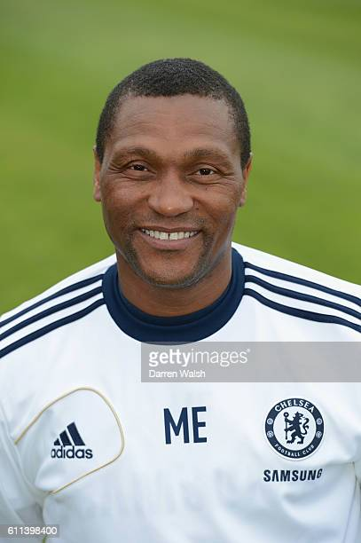 Chelsea's Michael Emenalo during the U18 and U21 photocall at the Cobham Training Ground on 12th September 2012 in Cobham England
