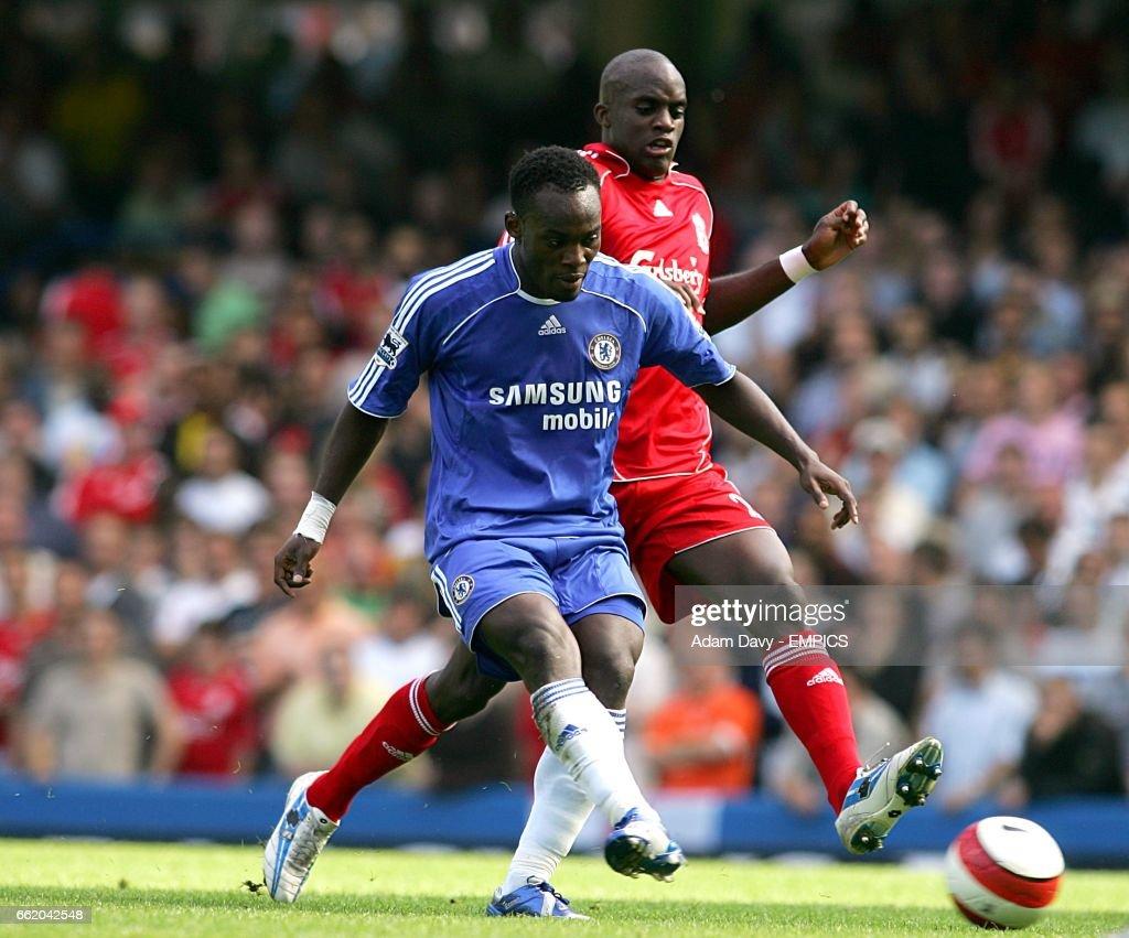 Soccer FA Barclays Premiership Chelsea v Liverpool Stamford