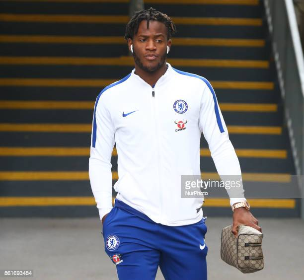Chelsea's Michy Batshuayi during Premier League match between Crystal Palace and Chelsea at Selhurst Park Stadium London England on 14 Oct 2017