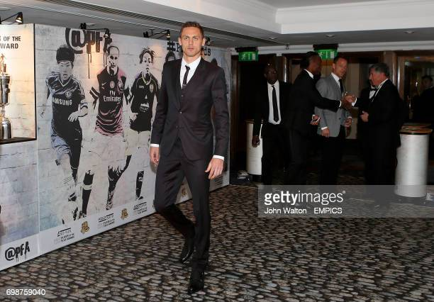 Chelsea's Nemanja Matic during the PFA Player of the Year Awards 2015 at the Grosvenor House Hotel London