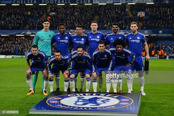 Chelsea's starting XI Belgian goalkeeper Thibaut Courtois Nigerian midfielder John Obi Mikel Brazilian midfielder Kenedy English defender Gary Cahill...