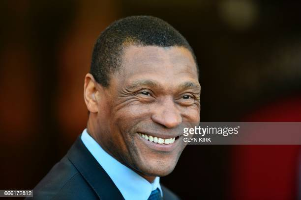 Chelsea's technical director Michael Emenalo smiles ahead of the English Premier League football match between Bournemouth and Chelsea at the...