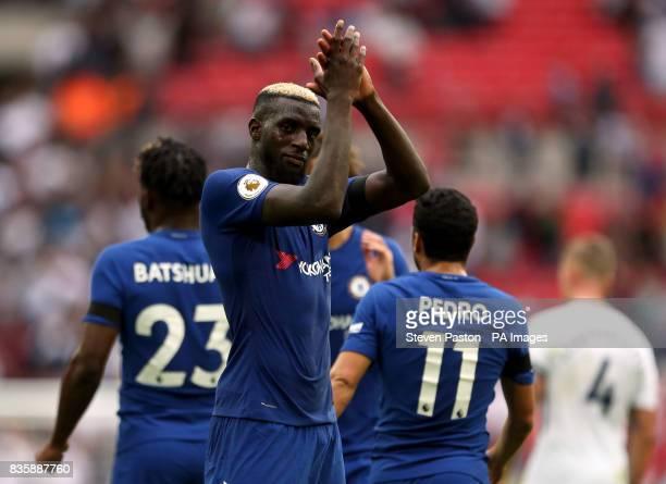Chelsea's Tiemoue Bakayoko after the Premier League match at Wembley Stadium London