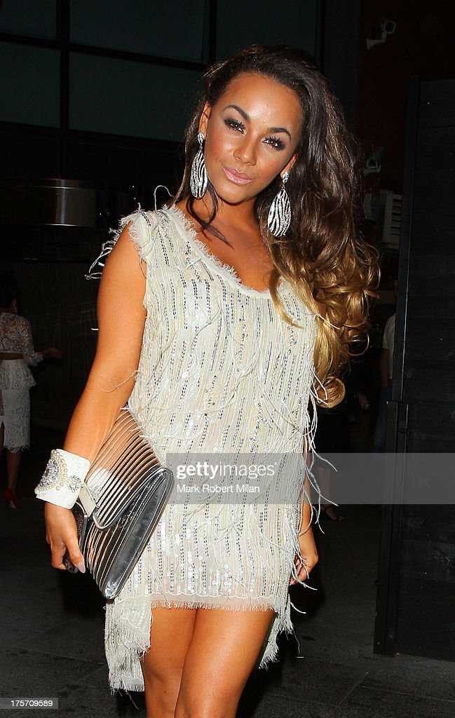 Chelsee Healey at Gilgamesh restaurant on August 6, 2013 in London, England.