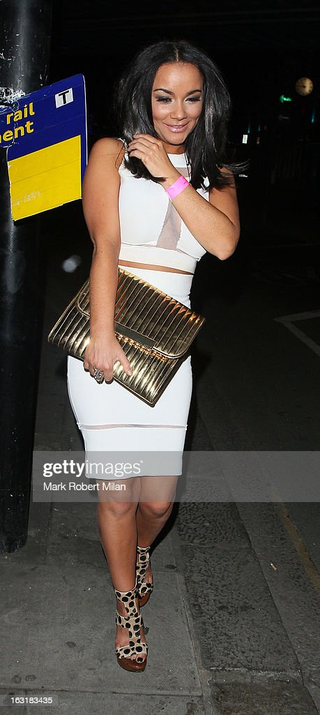 Chelsee Healey attending the new! magazine 10th birthday party at Gilgamesh restaurant on March 5, 2013 in London, England.