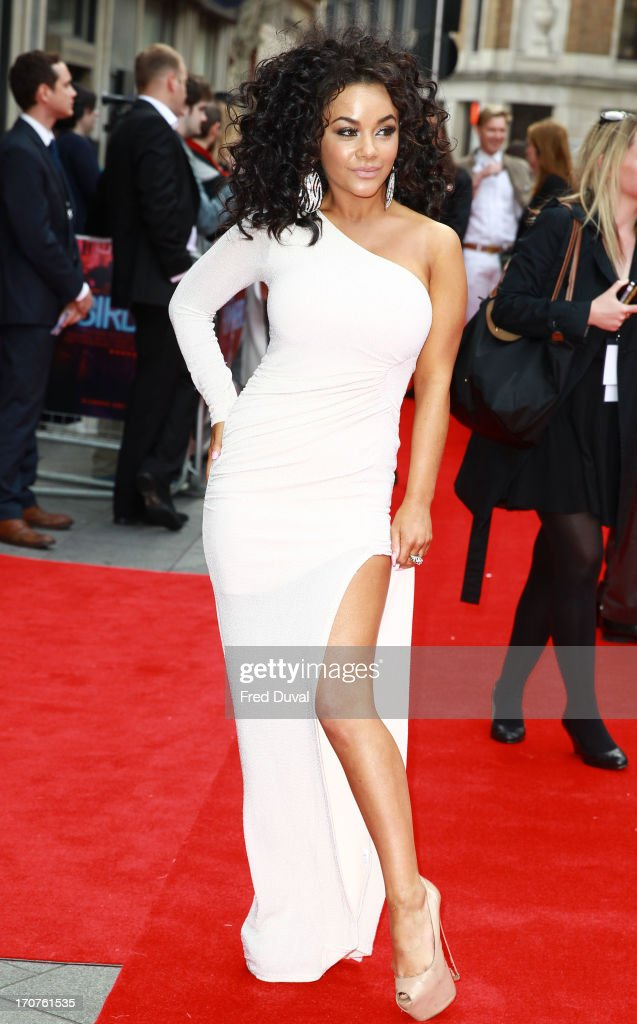 Chelsee Healey attends the UK Premiere of 'Hummingbird' at Odeon West End on June 17, 2013 in London, England.