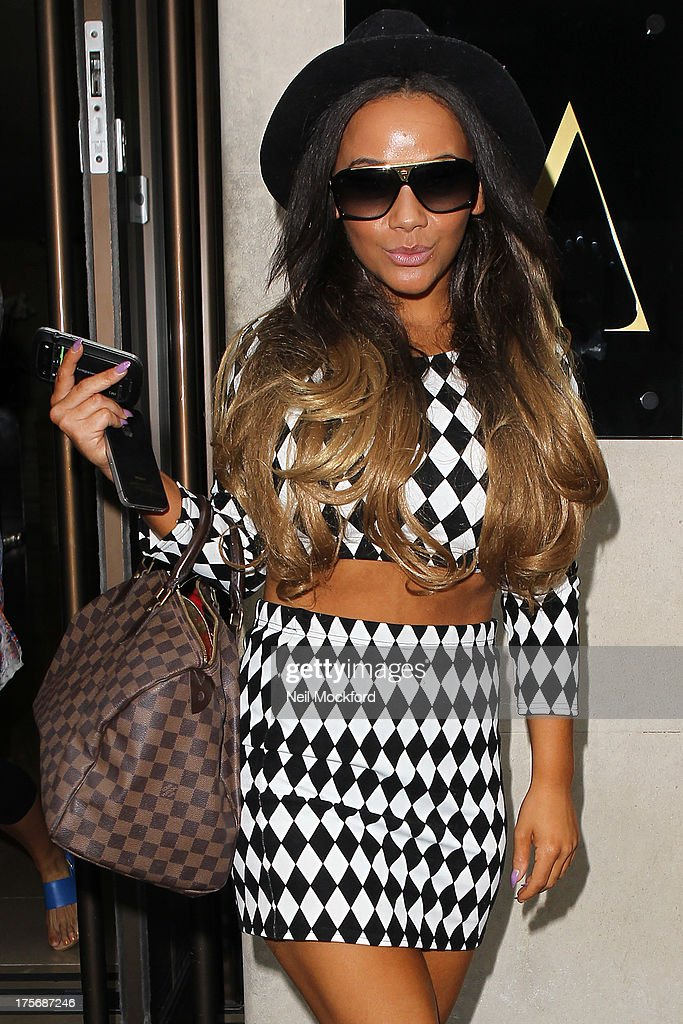 Chelsee Healey seen arriving at a London Hotel to start celebrating her 25th Birthday on August 6, 2013 in London, England.