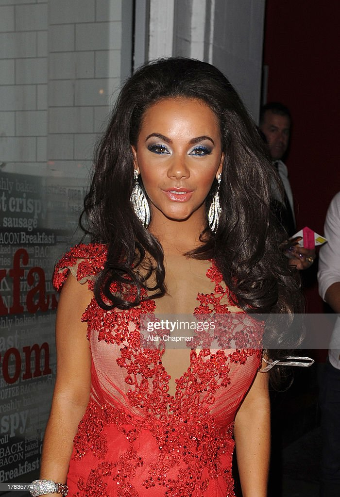 Chelsee Healey sighting at Cafe de Paris on August 29, 2013 in London, England.