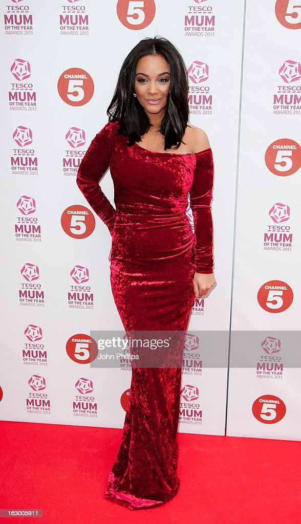 Chelsey Healey attends the Tesco Mum of the Year awards at The Savoy Hotel on March 3, 2013 in London, England.