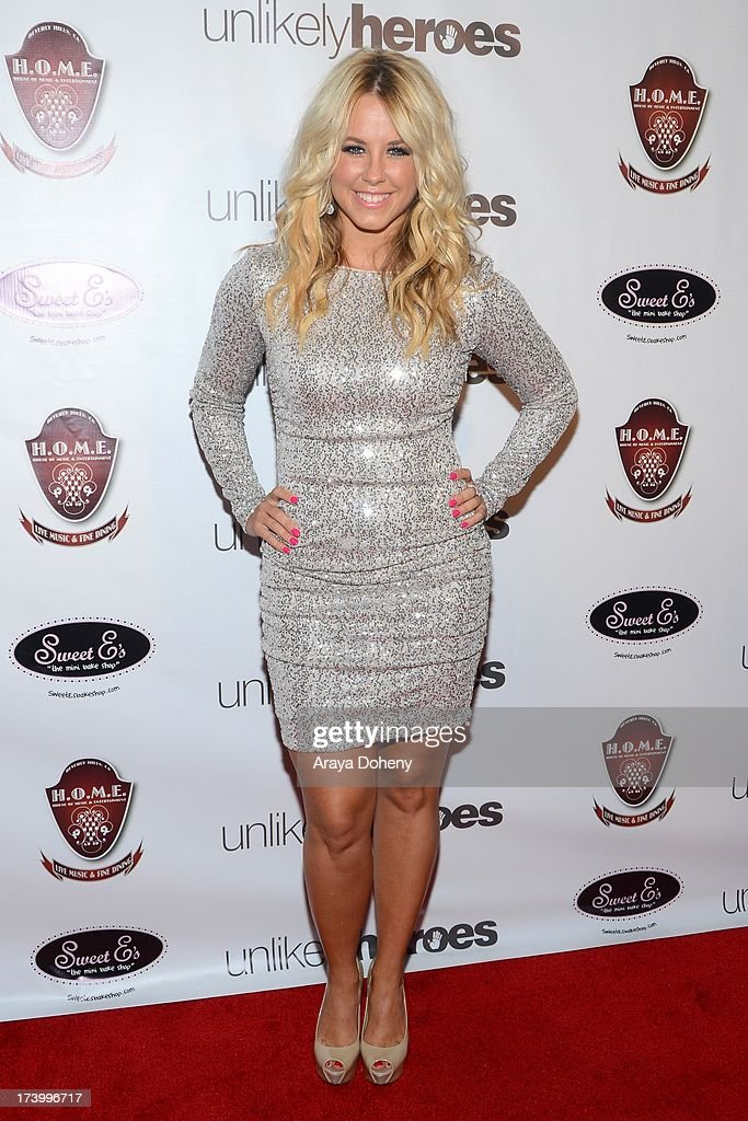 Chelsie Hightower attends the Chelsie Hightower and Peta Murgatroyd Charity Birthday Party on July 18, 2013 in Los Angeles, California.