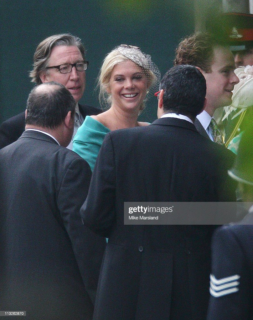 Chelsy Davy arrives to attend the Royal Wedding of Prince William to Catherine Middleton at Westminster Abbey on April 29, 2011 in London, England. The marriage of the second in line to the British throne is to be led by the Archbishop of Canterbury and will be attended by 1900 guests, including foreign Royal family members and heads of state. Thousands of well-wishers from around the world have also flocked to London to witness the spectacle and pageantry of the Royal Wedding.