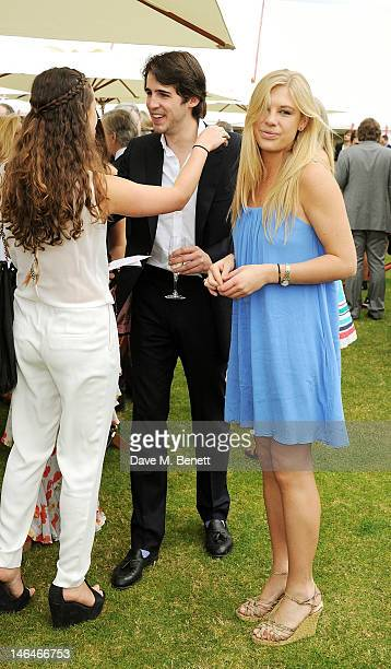 Chelsy Davy attends the Cartier Queen's Cup Polo Day 2012 at Guards Polo Club on June 17 2012 in Egham England