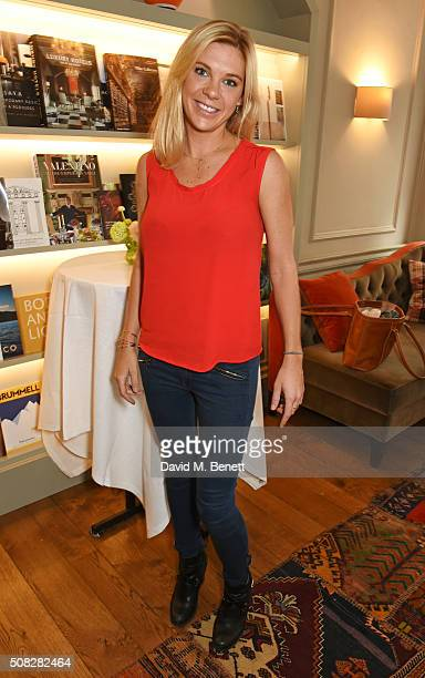 Chelsy Davy attends the launch of Forte Organics hosted by Irene Forte at Brown's Hotel a Rocco Forte Hotel on February 4 2016 in London England